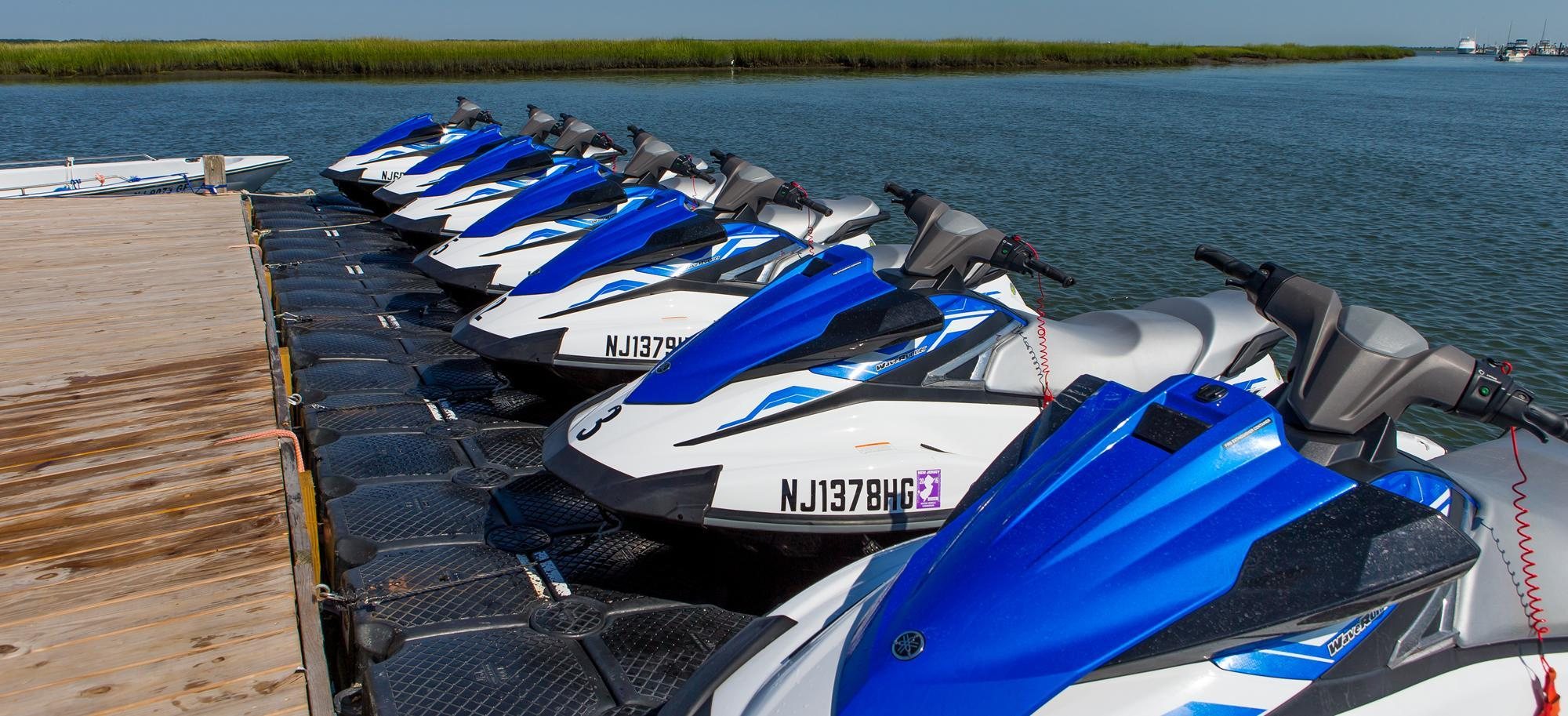 Yamaha Vx Deluxe >> Kawasaki Jet-ski - MB at Key Largo